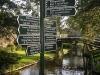 Toeristische wegbewijzering Giethoorn